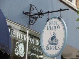 BLUE HERON BOOKS in Uxbridge, Ontario.