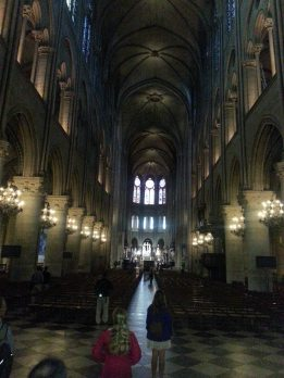 If you want to see Notre Dame without the crowds, go at 8am. Perfect time. Thanks to LBWR faculty member Travis for the tip (one of many!).