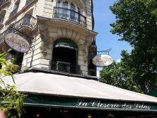 La Closerie des Lilas - One of Hemingway's haunts!