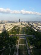 From atop the Tower Eiffel!