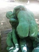 A piece in the garden of the Musee Rodin, which was included in the LBWR tuition.