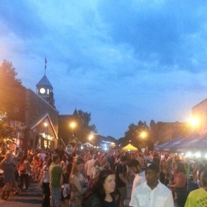 Nuit Blanche North - Downtown Huntsville, Ontario - July 12, 2014