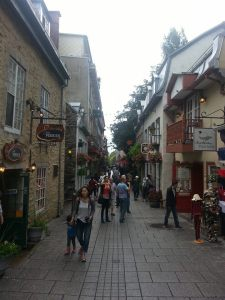 Quebec City Streets - A Whisper of Paris