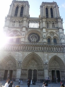 Notre Dame Cathedral in the Morning!