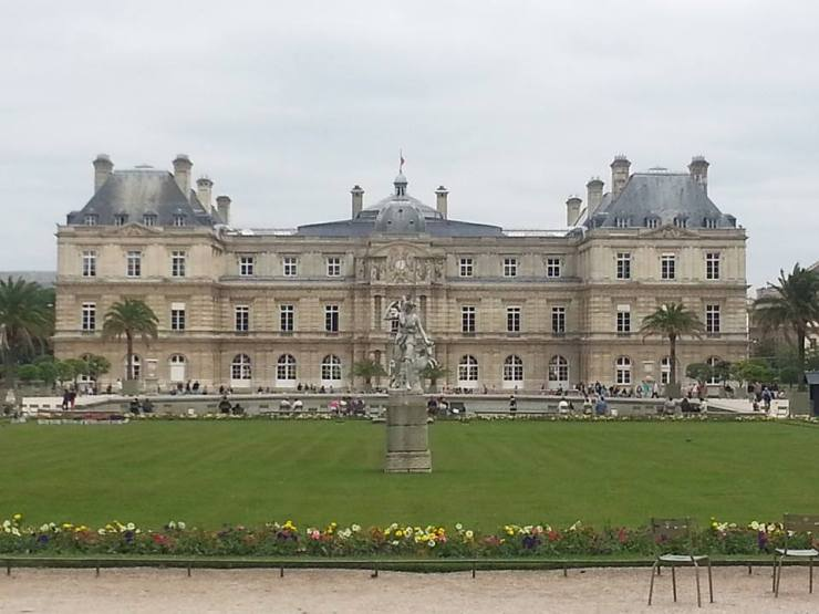 The Beautiful Luxembourg Gardens, where writers on the retreat spend their mornings writing and listening and breathing in the beauty that is Paris...