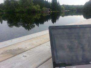 Dockside Writing - The Beauty of Muskoka Novel Writing!