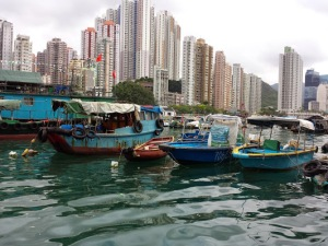 Victoria Harbour, Hong Kong...