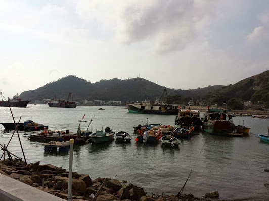 A snapshot of Tai O, Hong Kong...a little fishing village I visited last week while I was Asia.