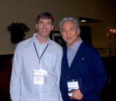 Wayson Choy and I, from a previous year at the OWC...