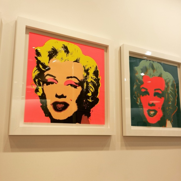 What exhibit would be complete without at least one Marilyn?
